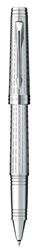 home-parker-pen-chiseled-silver-rollerball