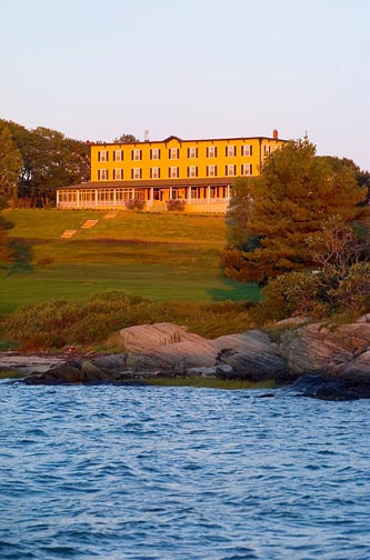 Environment around and at the Chebeague Island Inn, Chebeague Island, Maine - Photograph By Jeffrey Stevensen