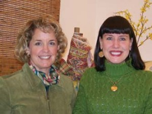 Janet Schwalm and Ann Marie Gillis