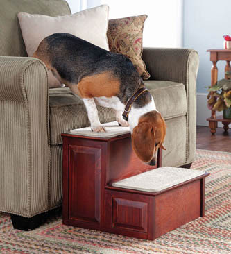 lifestyle-pets-wooden-carpeted-pet-steps